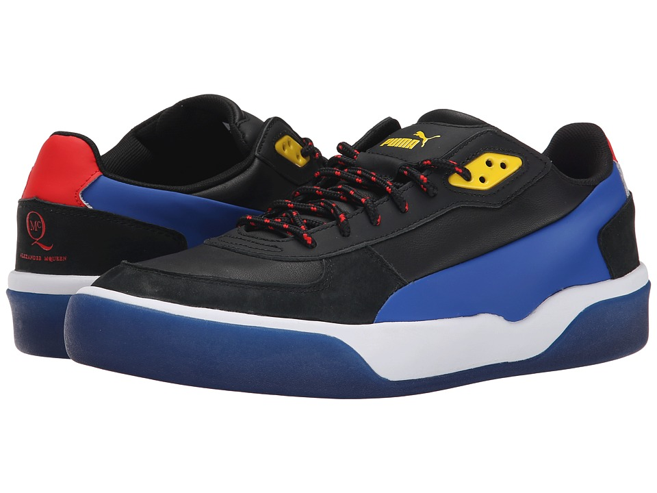 PUMA Sport Fashion - MCQ Brace Low (Black/Surf The Web) Men's Shoes