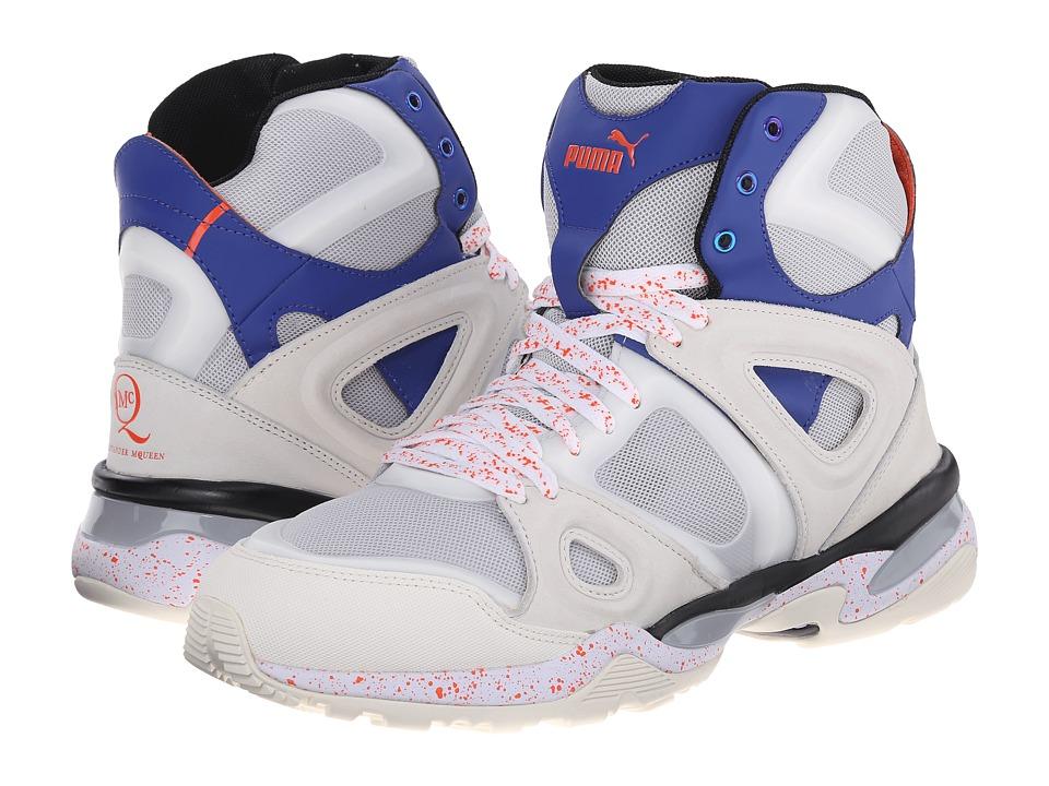 PUMA Sport Fashion - MCQ Tech Runner Mid (Star White/Glacier Gray) Men's Shoes