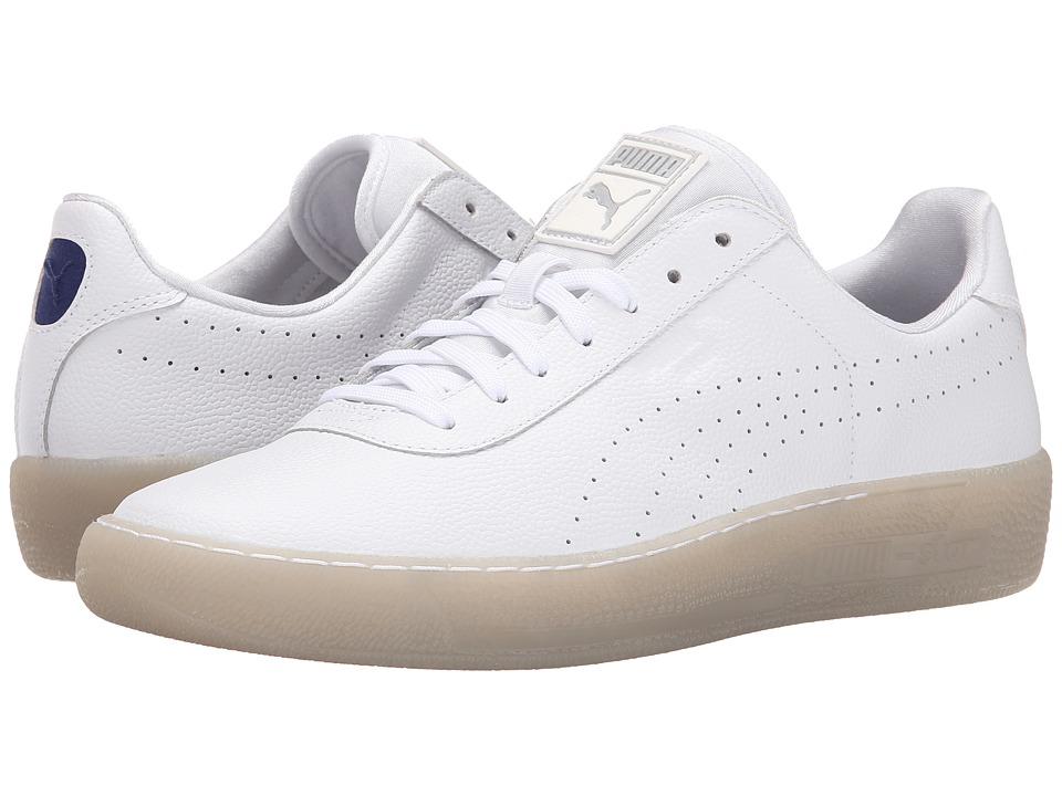 PUMA Sport Fashion - Puma Star (White) Men's Shoes