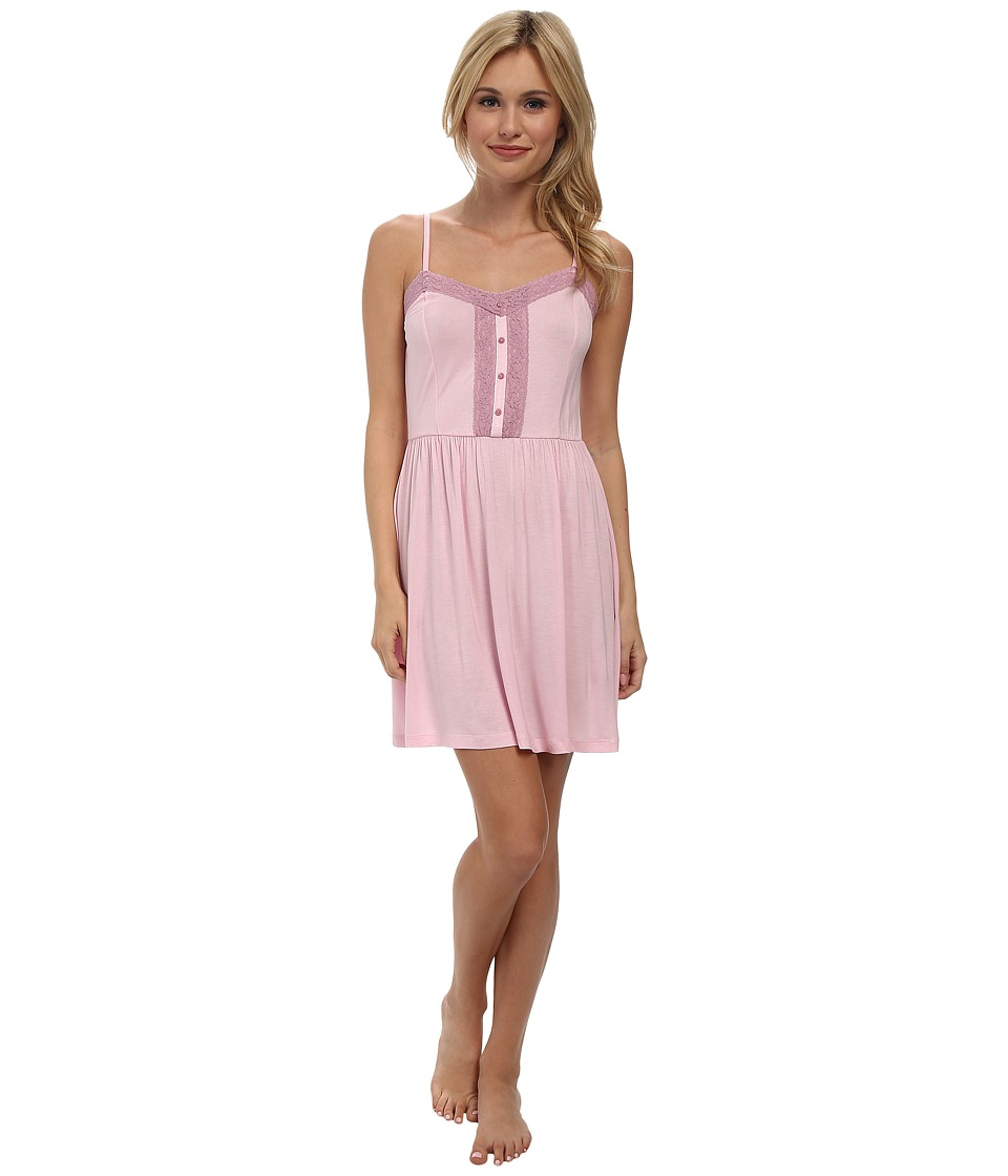BCBGeneration - Jenn The Curator Chemise (Pink Lady) Women's Pajama