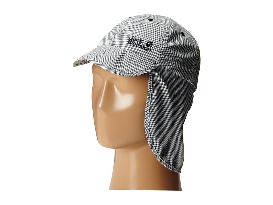 Jack Wolfskin Kids - Desert Sun Hat (Little Kid/Big Kid) (Night Blue Checks) Caps