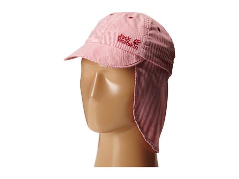 Jack Wolfskin Kids - Desert Sun Hat (Little Kid/Big Kid) (Burnt Olive Checks) Caps