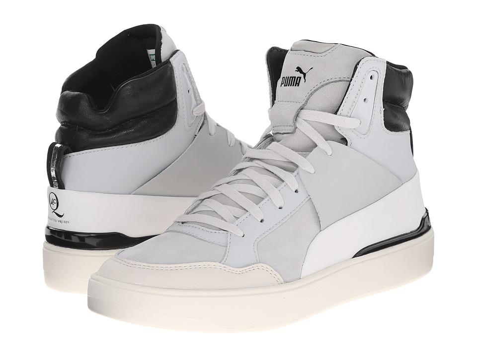 PUMA Sport Fashion - MCQ Brace Femme Mid (Glacier Gray/Star White) Women's Shoes
