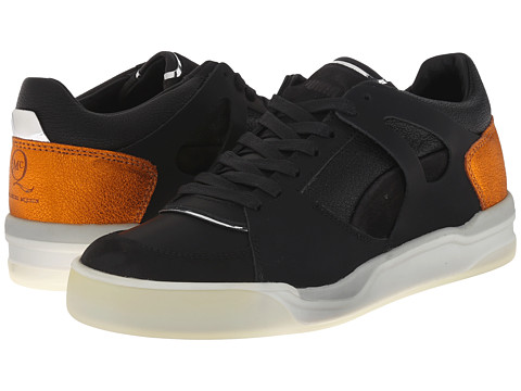 PUMA Sport Fashion - MCQ Move Femme Low (Black/Autumn Glory Yellow/Whisper White) Women