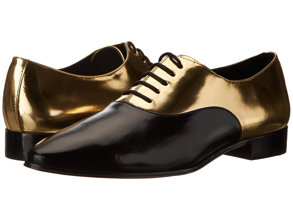 Michael Kors - Lottie (Black/Gold Smooth Calf/Specchio) Women