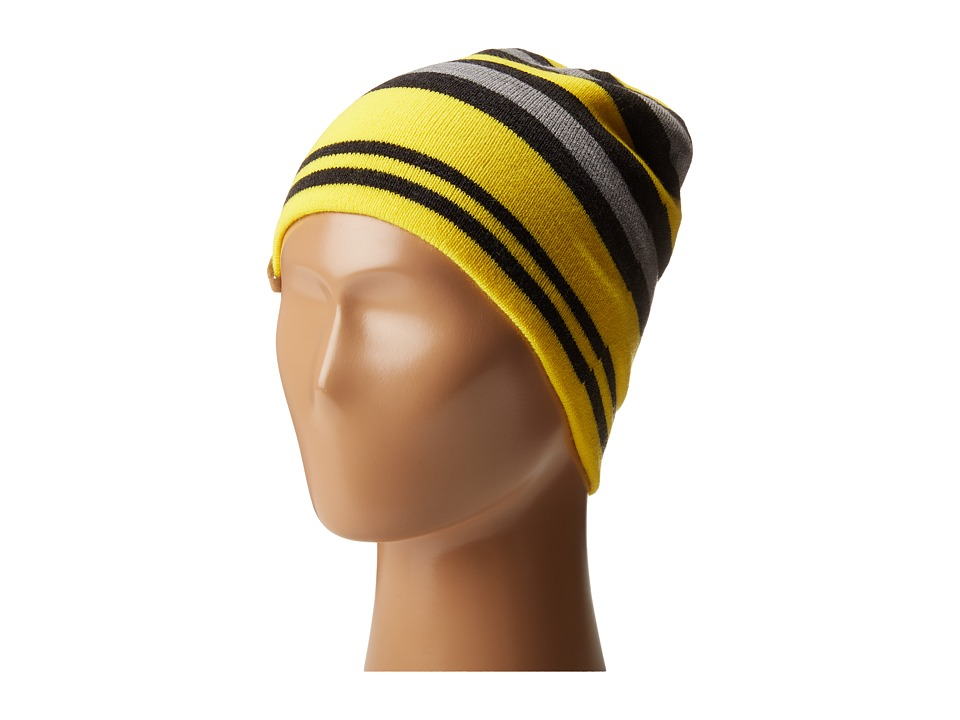 Obermeyer Kids - Traverse Knit Hat (Big Kids) (Cyber Yellow) Knit Hats