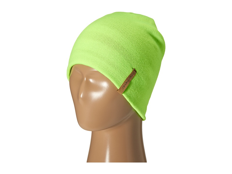 Obermeyer Kids - Traverse Knit Hat (Big Kids) (Glowstick) Knit Hats