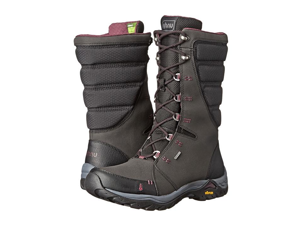 Ahnu - Northridge Insulated WP (Black) Women's Waterproof Boots