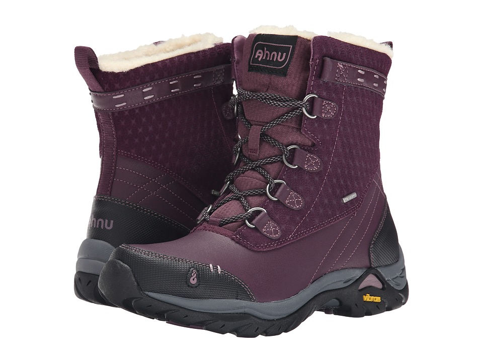 Ahnu - Twain Harte Insulated WP (Vintage Port) Women
