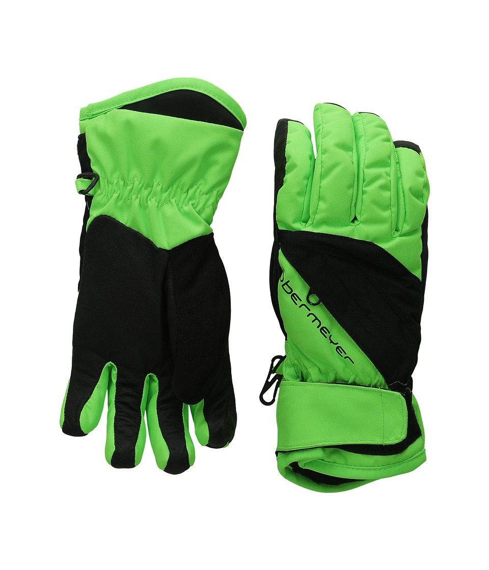 Obermeyer Kids - Alpine Glove (Toddler/Little Kid) (Glowstick) Extreme Cold Weather Gloves