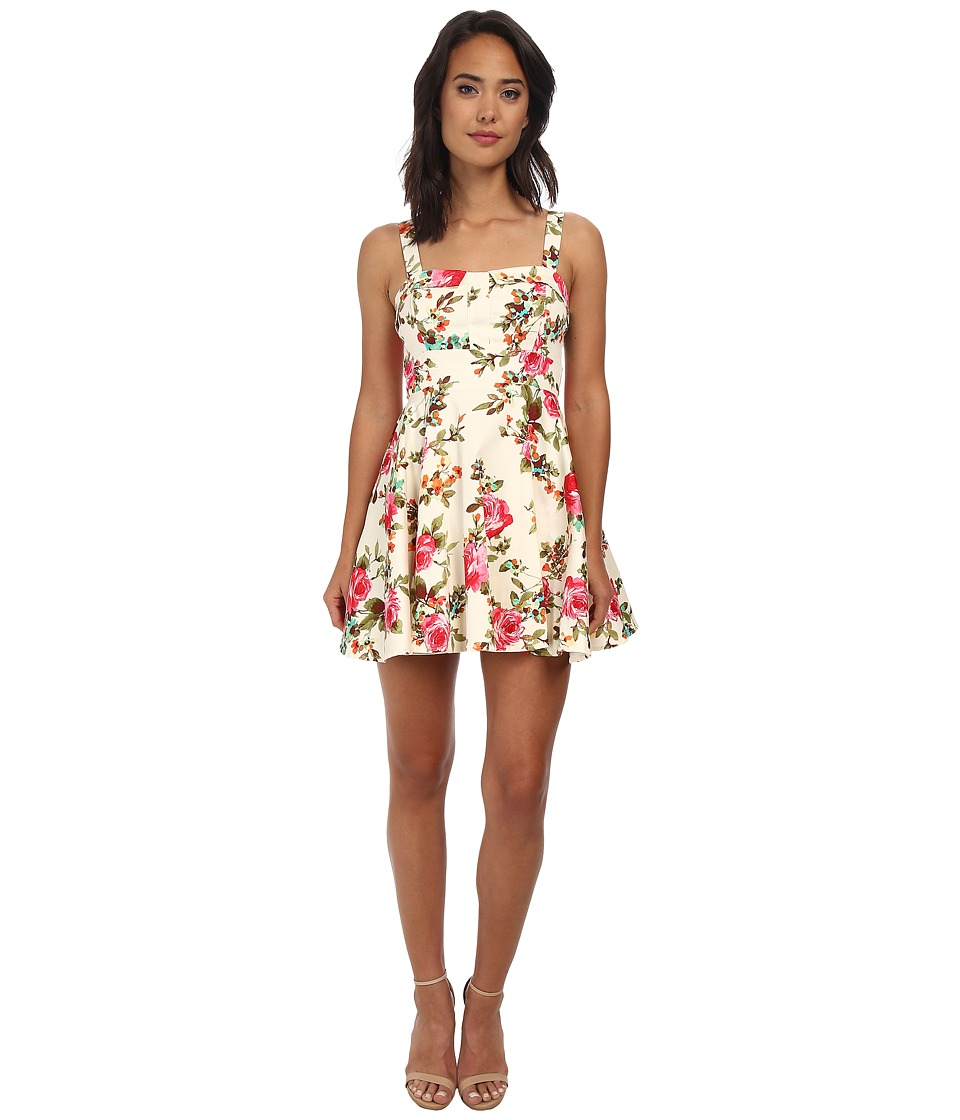 Gabriella Rocha - Allegra Party Dress (White Floral) Women