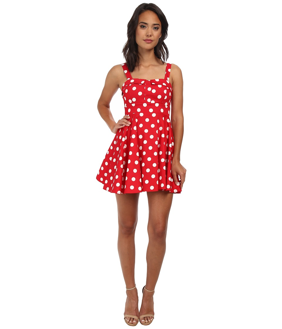 Gabriella Rocha - Allegra Party Dress (Red Polka Dot) Women