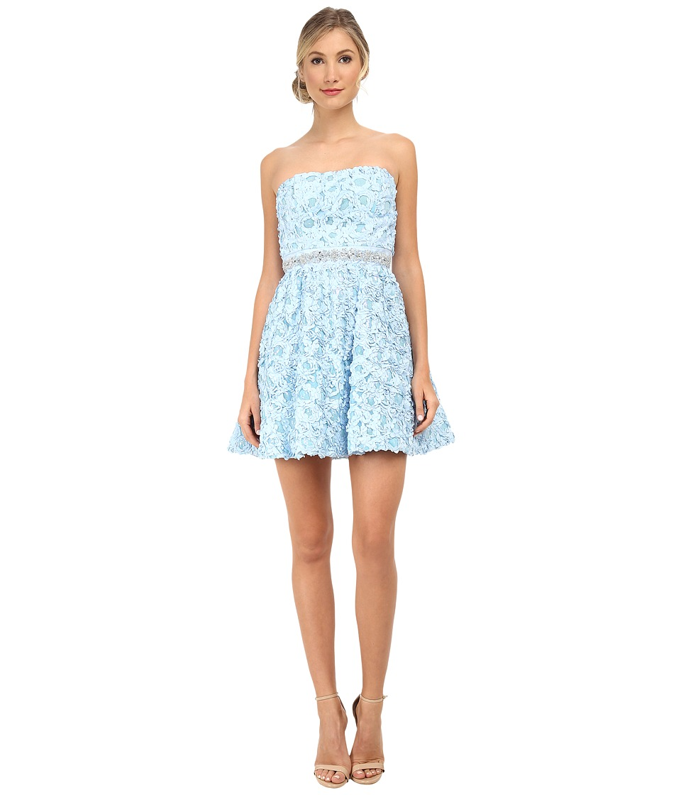 Gabriella Rocha - Rosette Party Dress (Ice Blue) Women's Dress