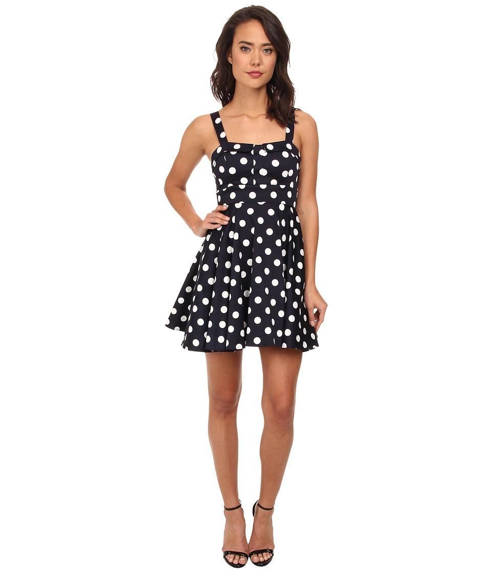 Gabriella Rocha - Arabesque Party Dress (Navy Dot) Women's Dress