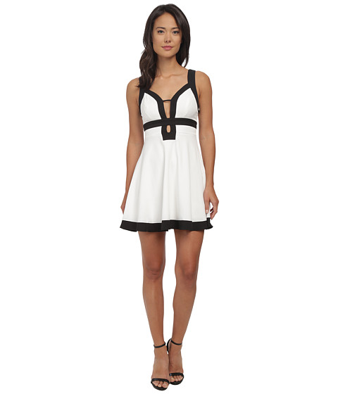 Gabriella Rocha - Henrietta Dress w/ Contrast (Ivory) Women's Dress