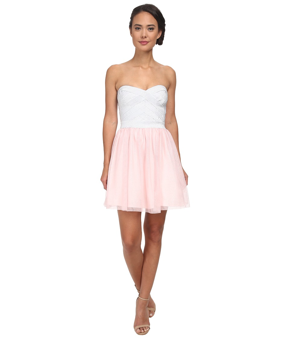 Gabriella Rocha - Spring Tutu Dress (Silver/Blush) Women's Dress