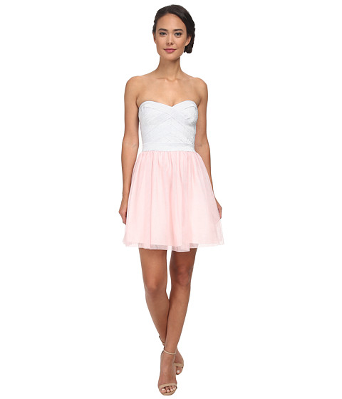 Gabriella Rocha - Spring Tutu Dress (Silver/Blush) Women