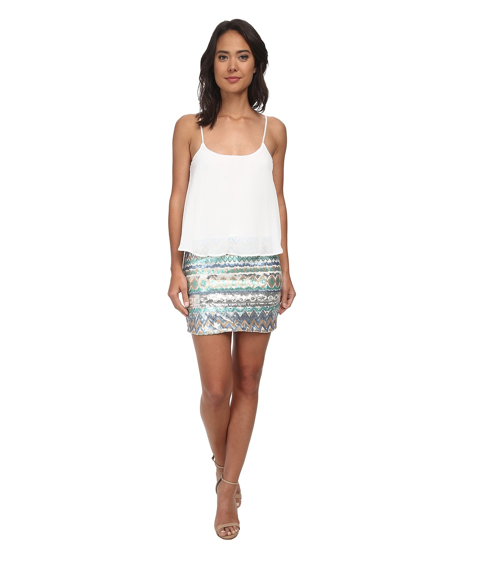 Gabriella Rocha - Popover Sequin Dress (Blue) Women's Dress