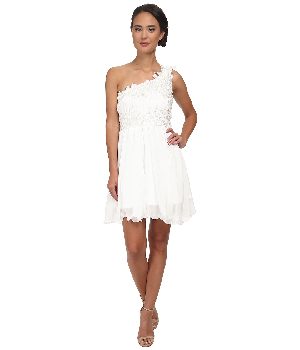 Gabriella Rocha - Pippa One Shoulder Dress (Ivory) Women's Dress