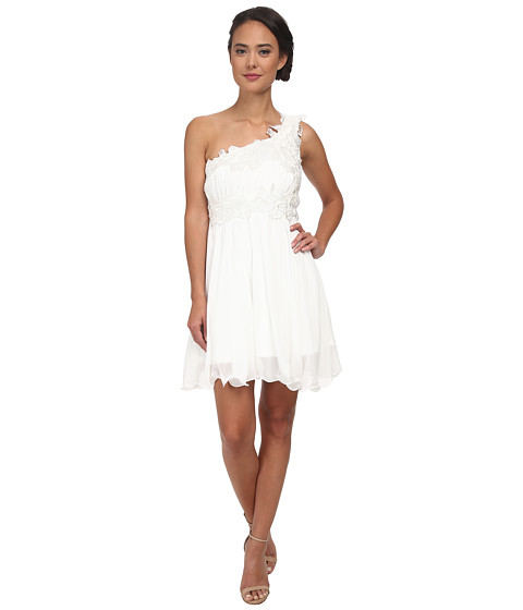 Gabriella Rocha - Pippa One Shoulder Dress (Ivory) Women