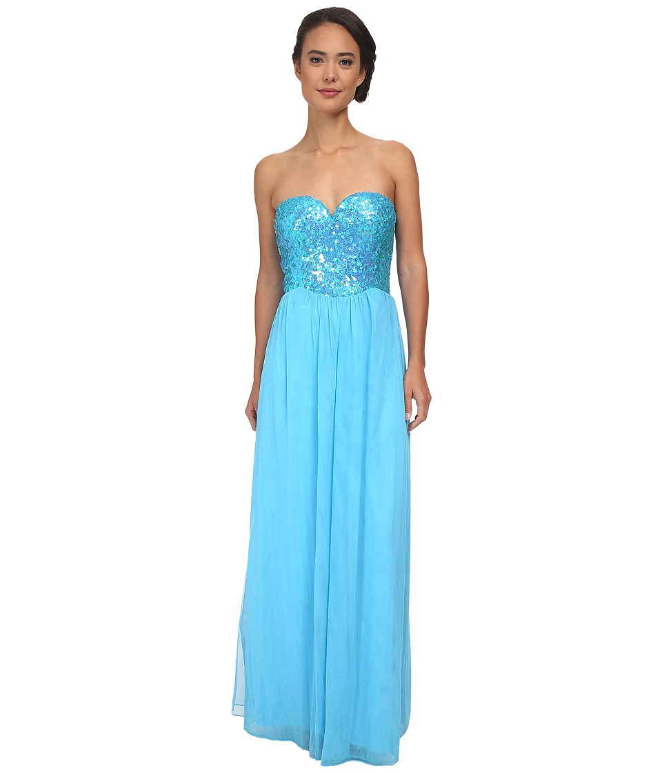 Gabriella Rocha - Sinead Gown (Turquoise) Women's Dress