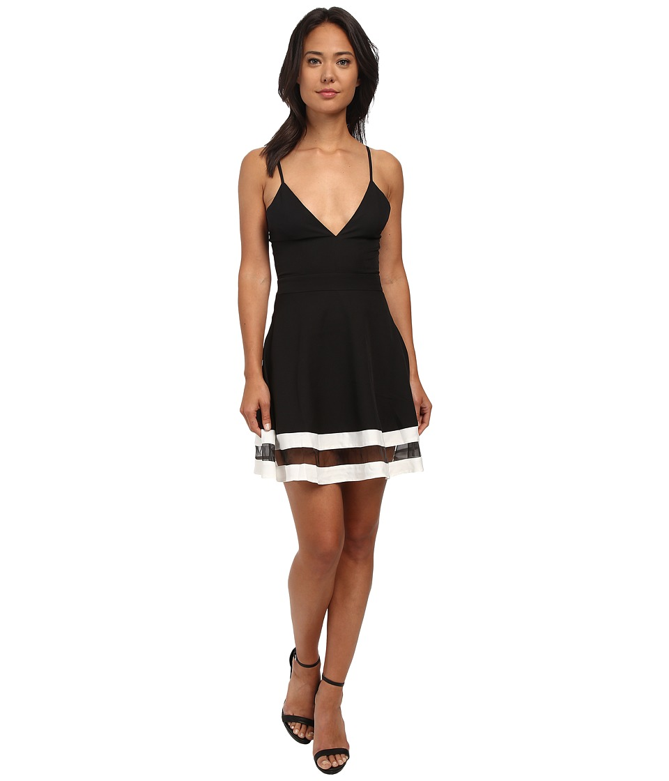 Gabriella Rocha - Isolde Circle Skirt Dress (Black) Women's Dress