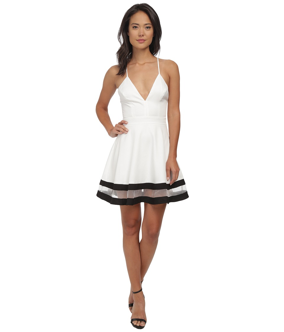 Gabriella Rocha - Isolde Circle Skirt Dress (White) Women's Dress