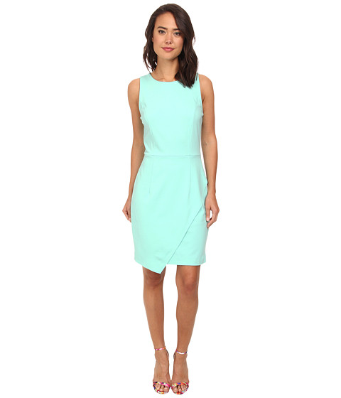 rsvp - Adalynn Sleeveless Sheath Dress (Seafoam) Women's Dress