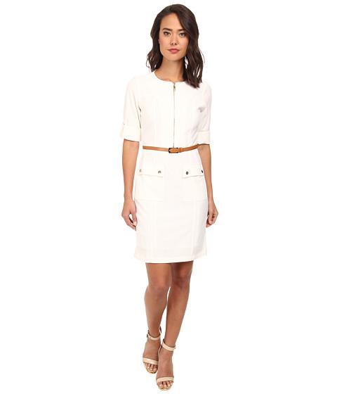 rsvp - Allie Shirt Dress (Ivory) Women's Dress