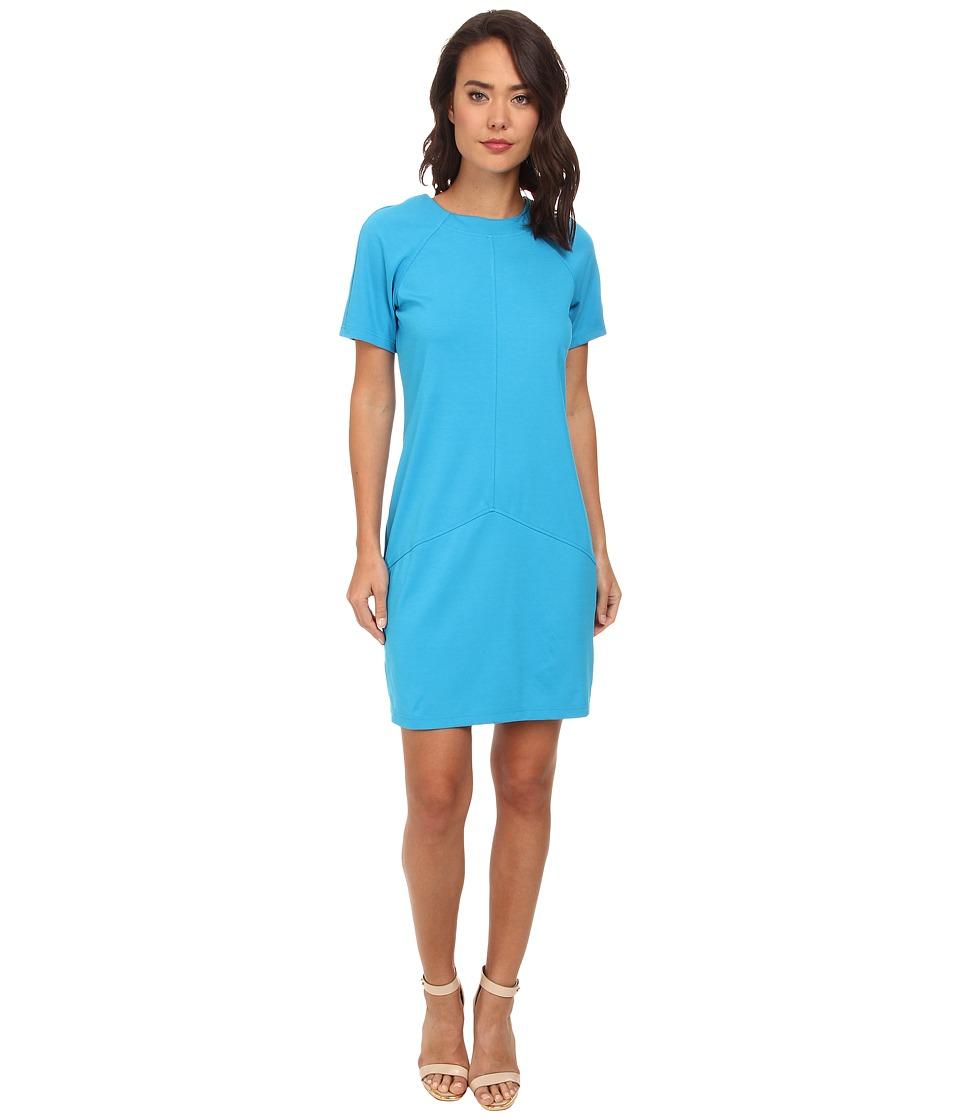 rsvp - Annabella Dress with Side Zip (Blue) Women