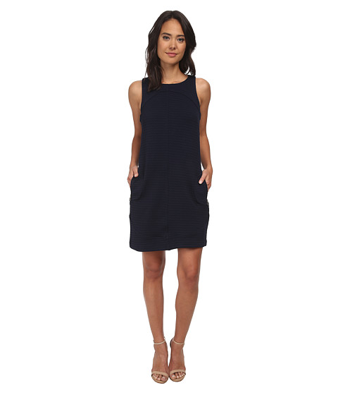 rsvp - Donna Sleeveless Shift Dress (Navy) Women
