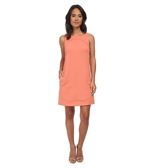 rsvp - Donna Sleeveless Shift Dress (Saffron) Women