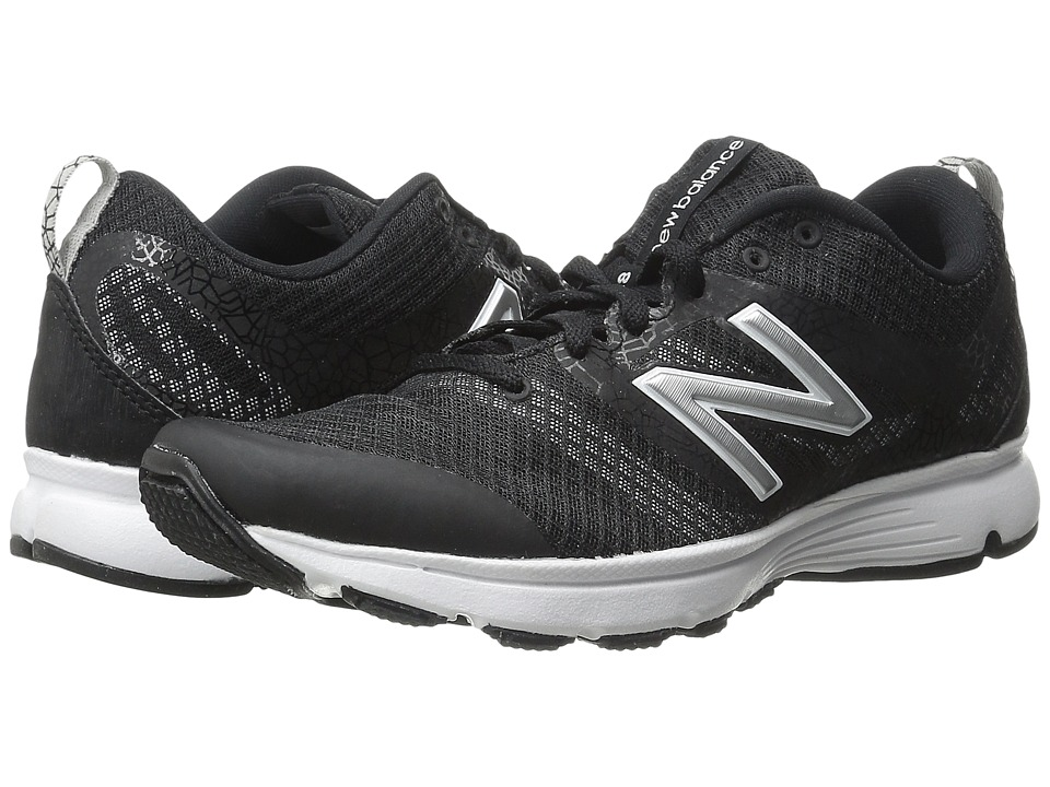 New Balance - WX668 - Training (Black) Women's Shoes