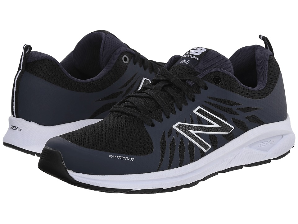 New Balance - WW1065 - Fitness Walking (Black) Women's Shoes