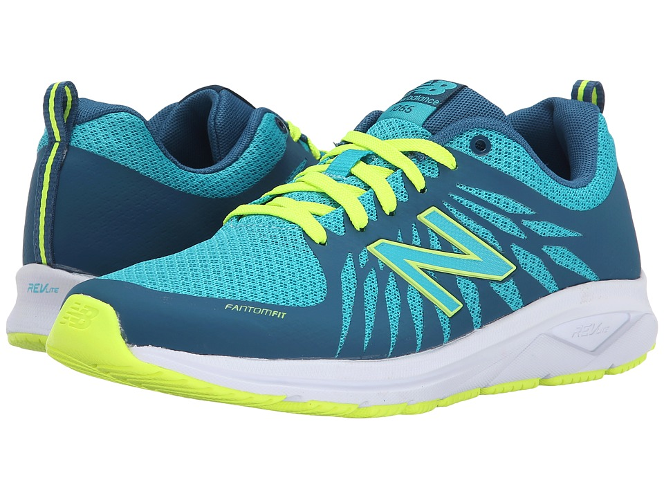 New Balance - WW1065 - Fitness Walking (Blue) Women's Shoes
