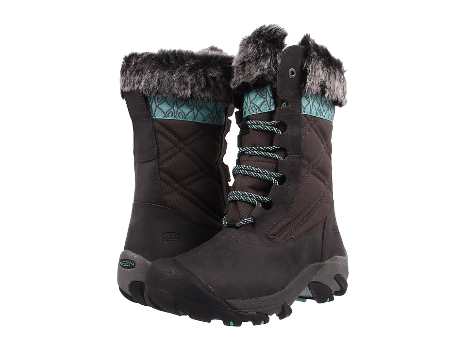 Keen - Hoodoo III (Raven/Lagoon) Women's Waterproof Boots