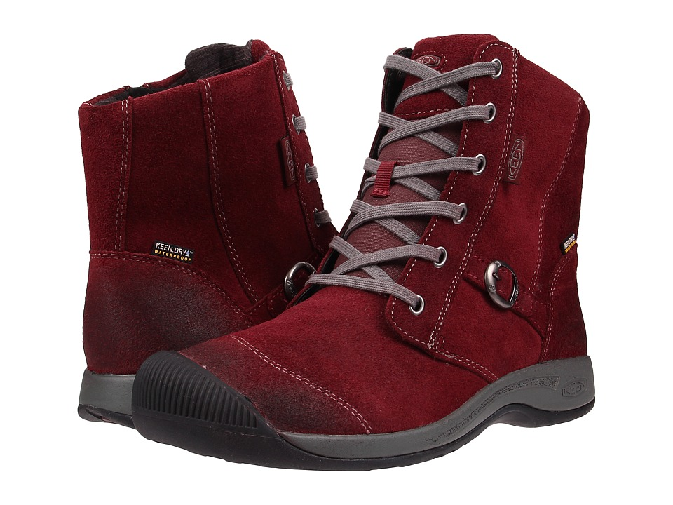 Keen - Reisen Zip WP (Zinfandel) Women's Waterproof Boots