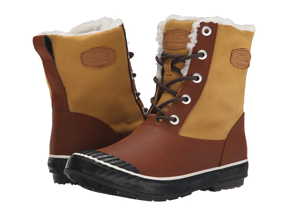 Keen - Elsa Boot WP (Bronze Mist) Women's Waterproof Boots