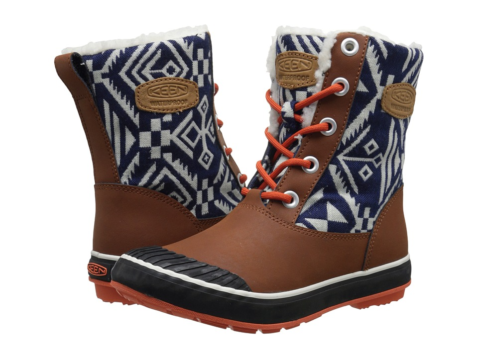 Keen - Elsa Boot WP (Tortoise Shell) Women's Waterproof Boots
