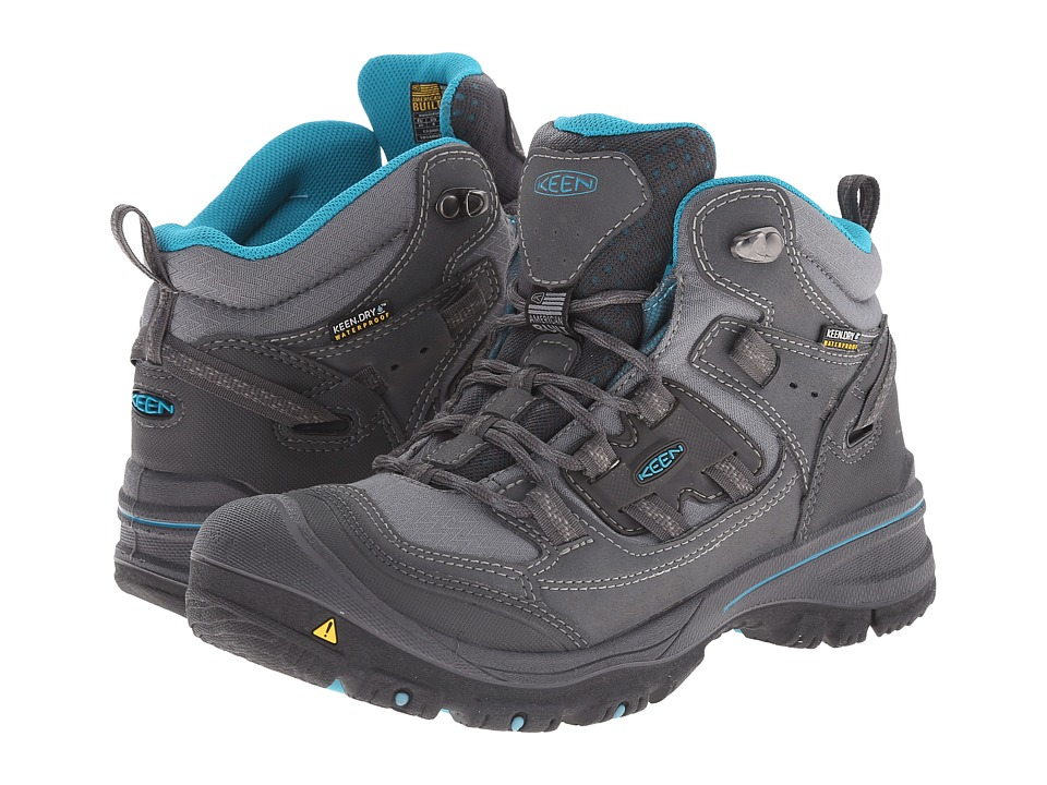 Keen Logan Mid (Magnet/Capri Breeze) Women