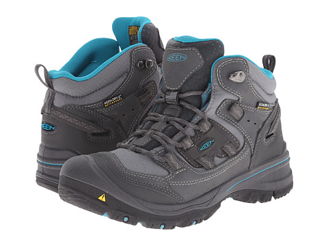 Keen - Logan Mid (Magnet/Capri Breeze) Women's Waterproof Boots