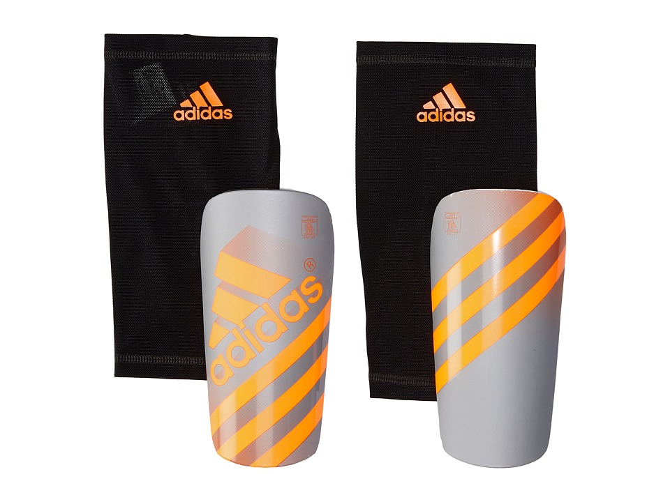 adidas - Ghost Guard (Silver Metallic/Solar Orange) Athletic Sports Equipment