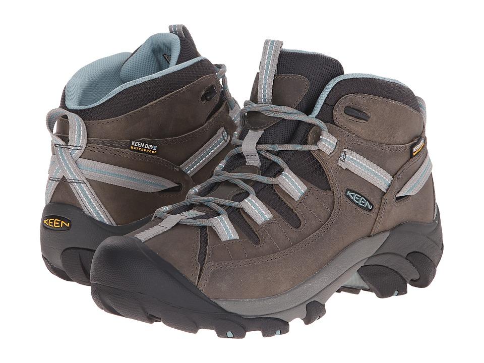 Keen - Targhee II Mid (Neutral Gray/Mineral) Women's Hiking Boots