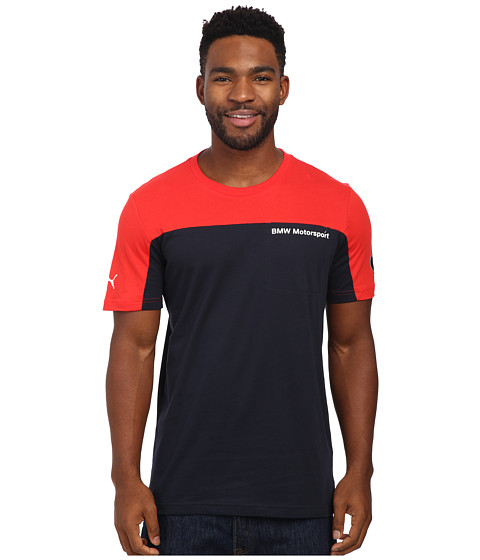 PUMA - BMW MSP Tee (High Risk Red) Men