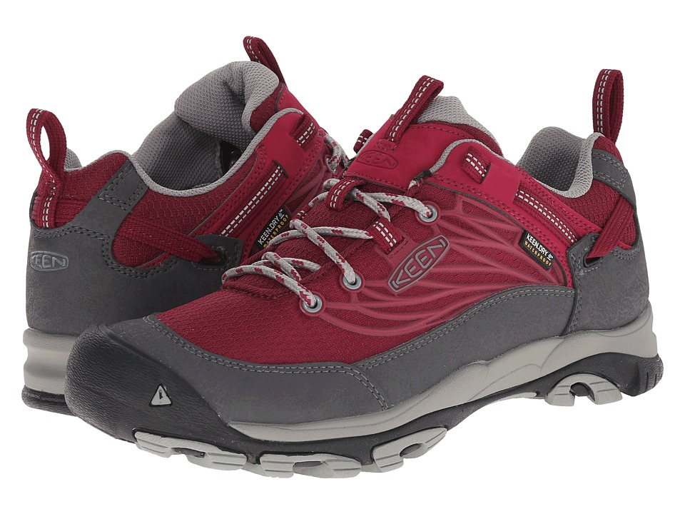Keen - Saltzman WP (Beet Red/Neutral Gray) Women's Cross Training Shoes