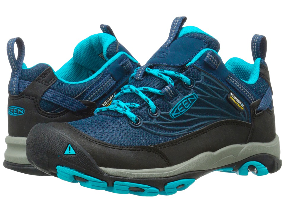 Keen - Saltzman WP (Dress Blue/Blue Danube) Women's Cross Training Shoes