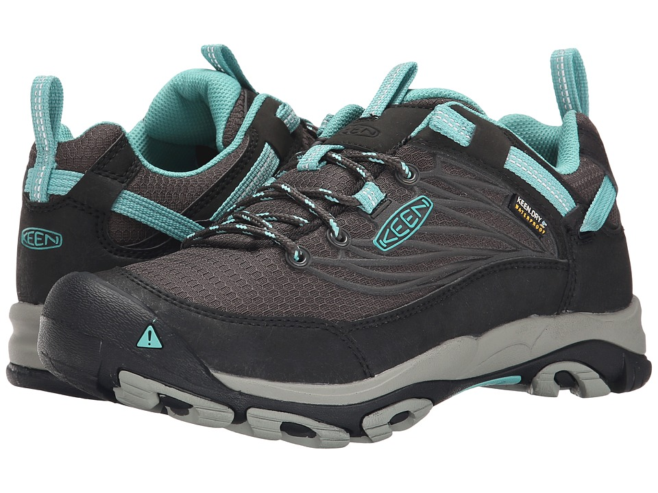 Keen - Saltzman WP (Raven/Lagoon) Women's Cross Training Shoes
