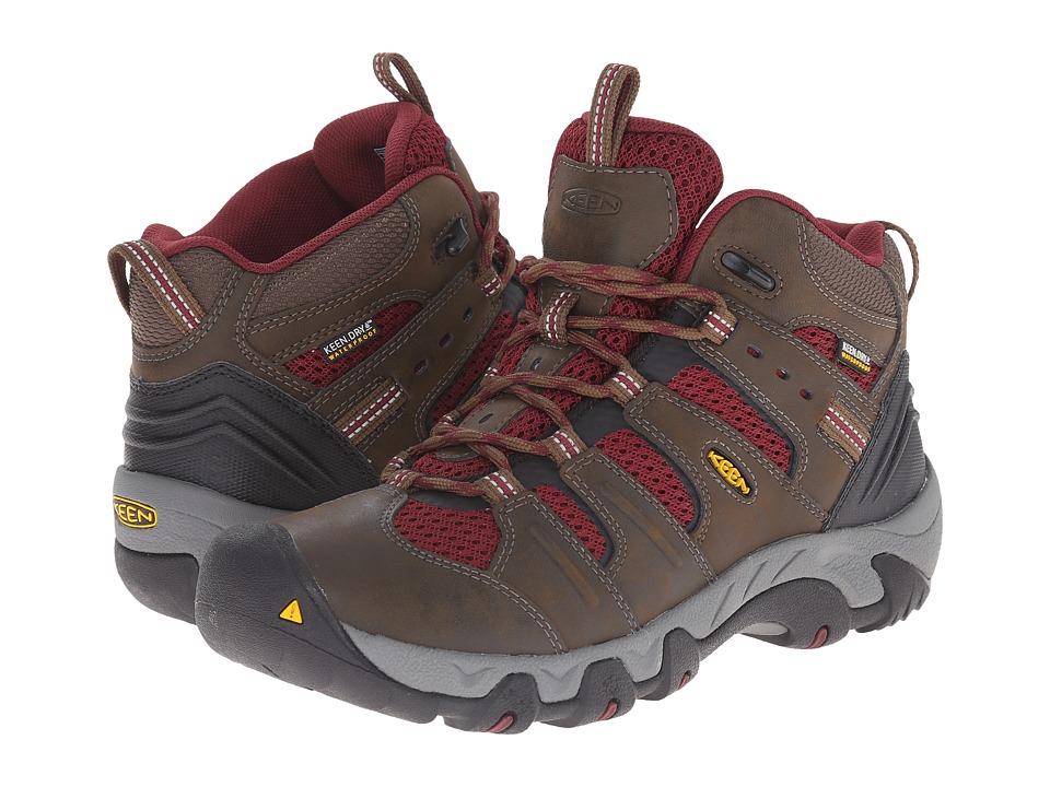 Keen - Koven Mid WP (Cascade Brown/Zinfandel) Women's Hiking Boots