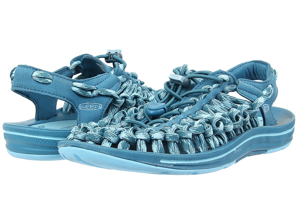 Keen - Uneek 8mm (Celestial/Blue Grotto) Women's Sandals