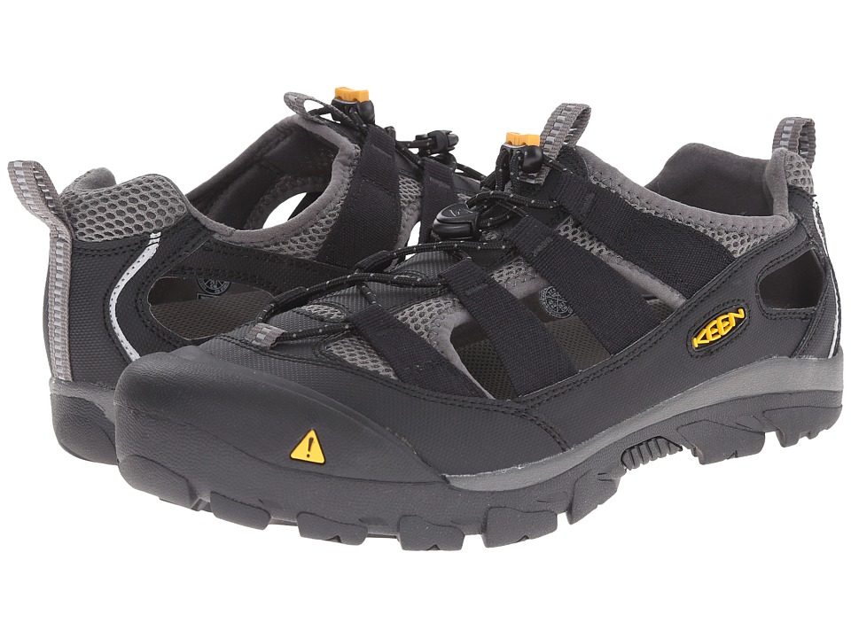 Keen - Commuter 4 (Black/Gorgoyle) Men's Shoes